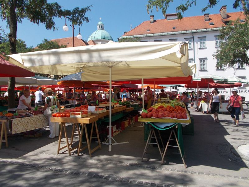 The Market Revisited - Ljubljana