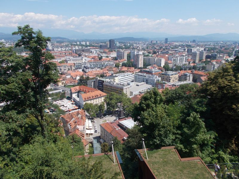 Views Over Ljubljana
