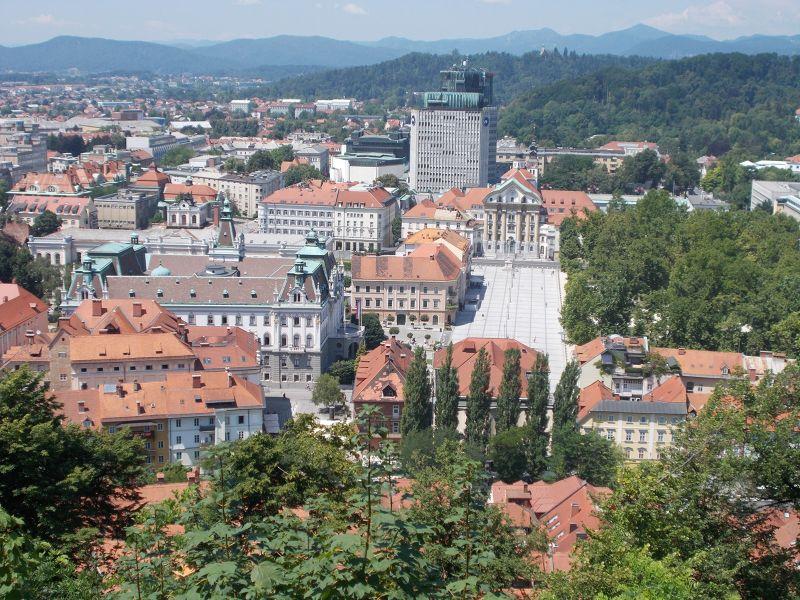 Views Over Ljubljana