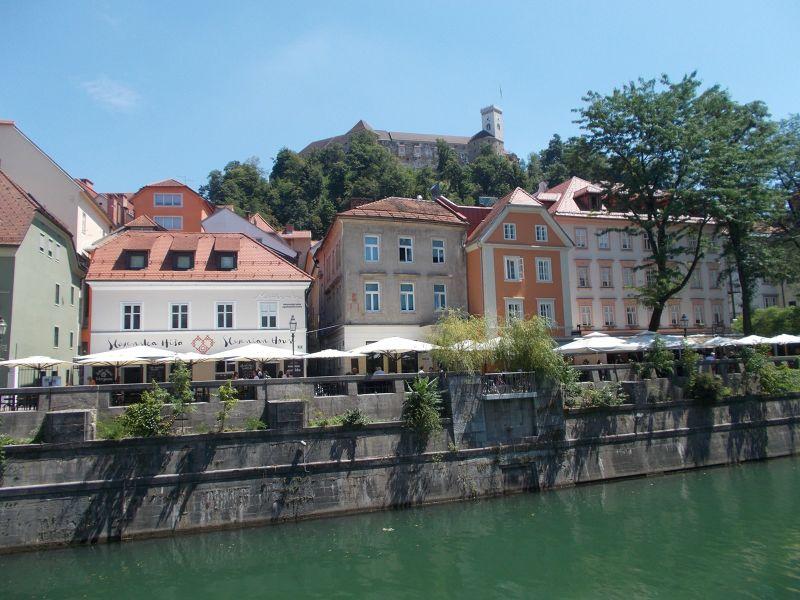 Views along the river - Ljubljana