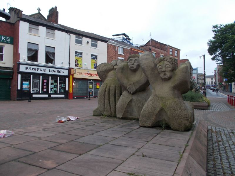 The Martyrs' Memorial, Preston.
