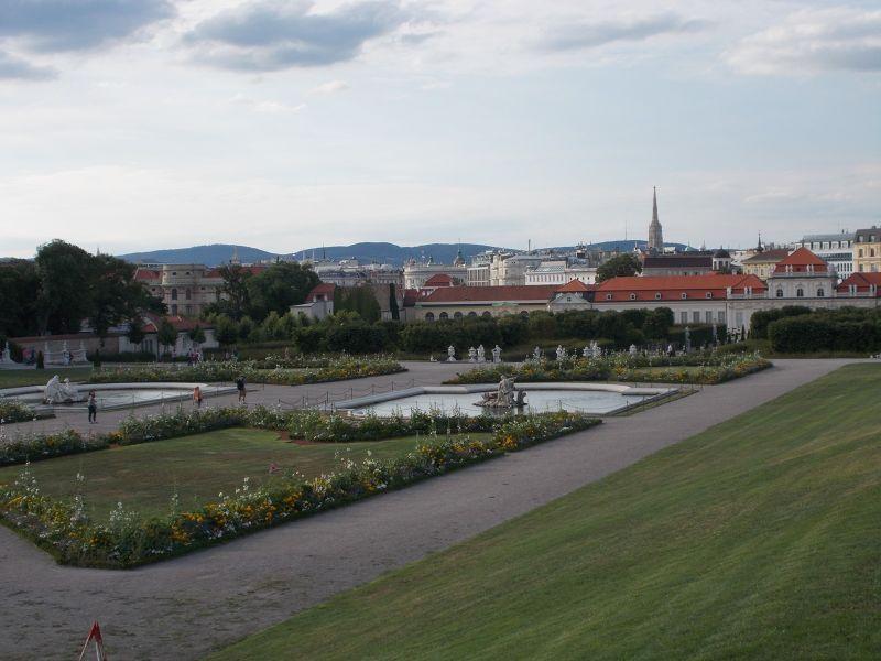 The Belvedere Gardens - Vienna