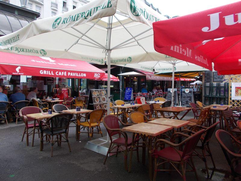 The Naschmarkt - Vienna