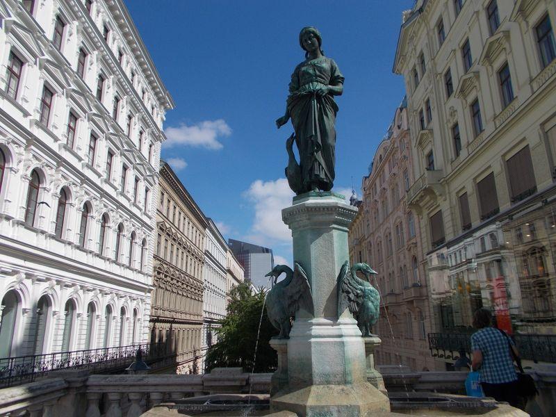 The Goose Girl Fountain - Vienna