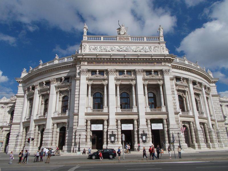 The Burgtheater - Vienna