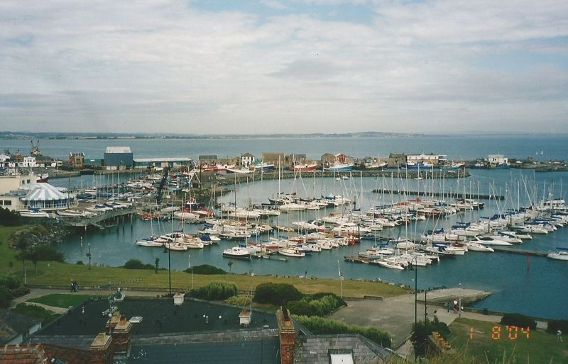 Howth Harbour. - Ireland