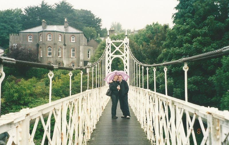 Shaky Bridge. - Ireland