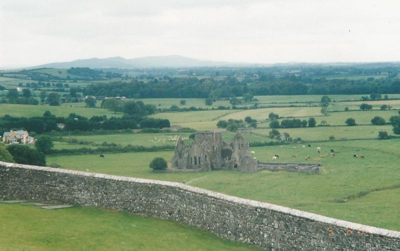 View from The Rock of Cashel - Ireland