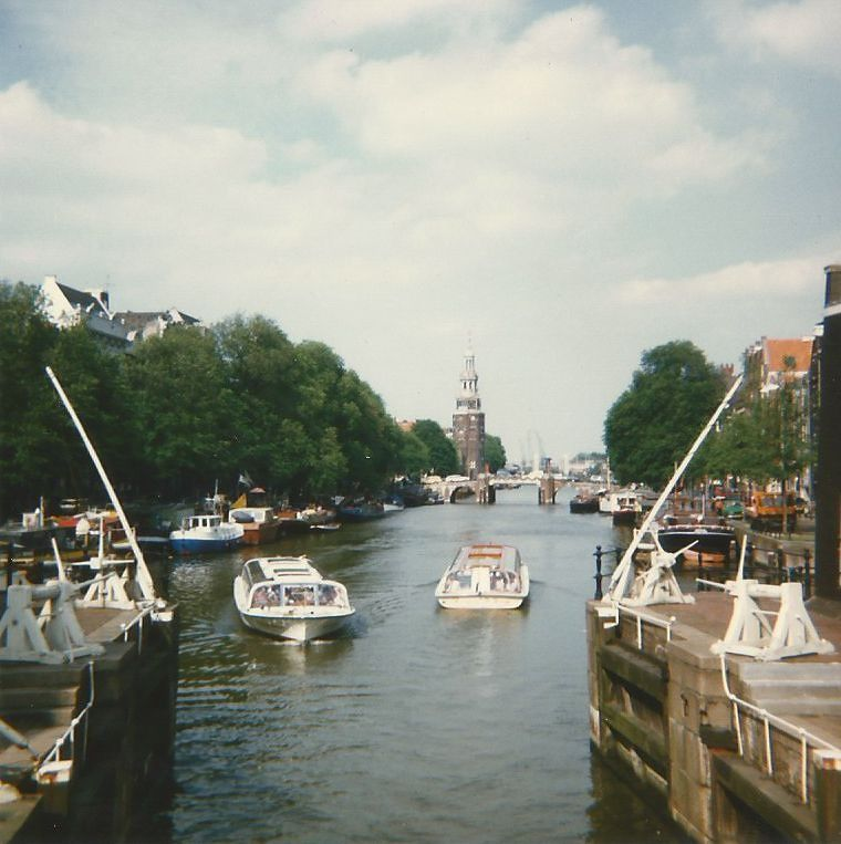 Canal, Amsterdam. - Amsterdam