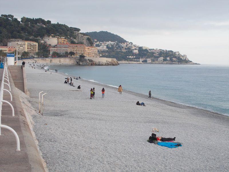 The beach at Nice - Nice