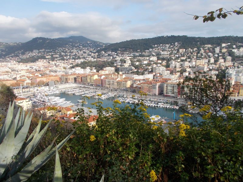 View over the Port of Nice - Nice