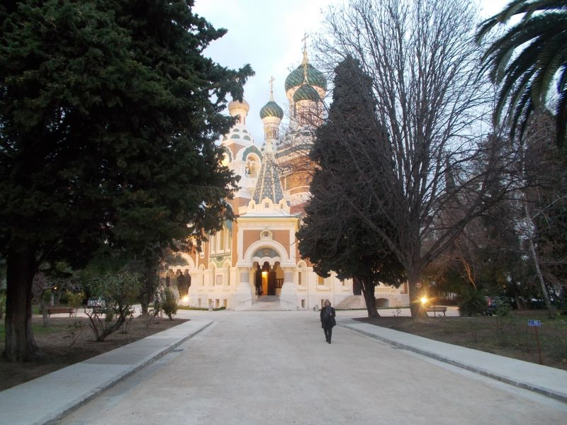 The Russian Orthodox Cathedral. - Nice