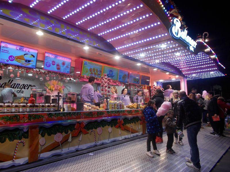 Christmas stalls. - Nice