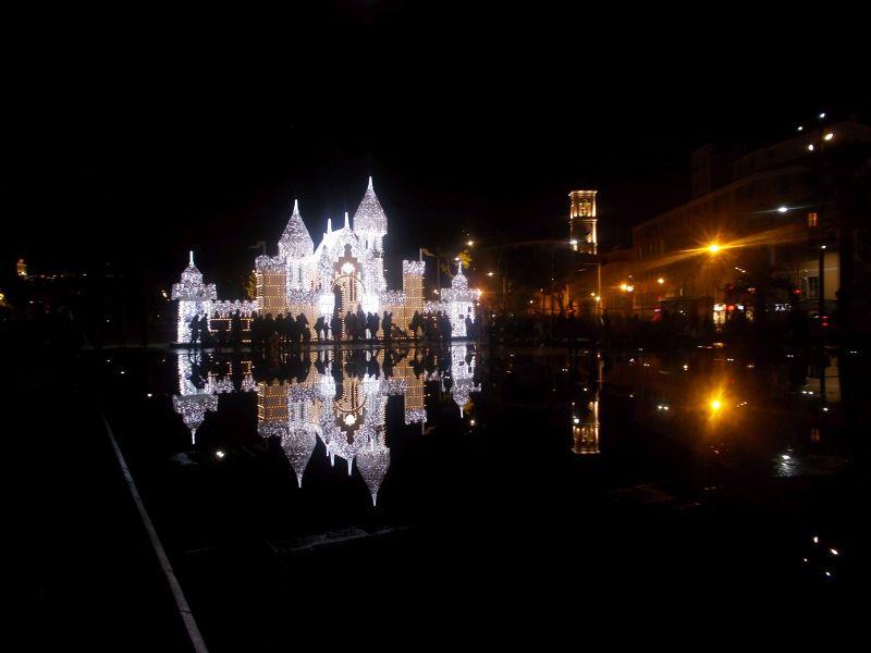 The Ice Palace at night. - Nice
