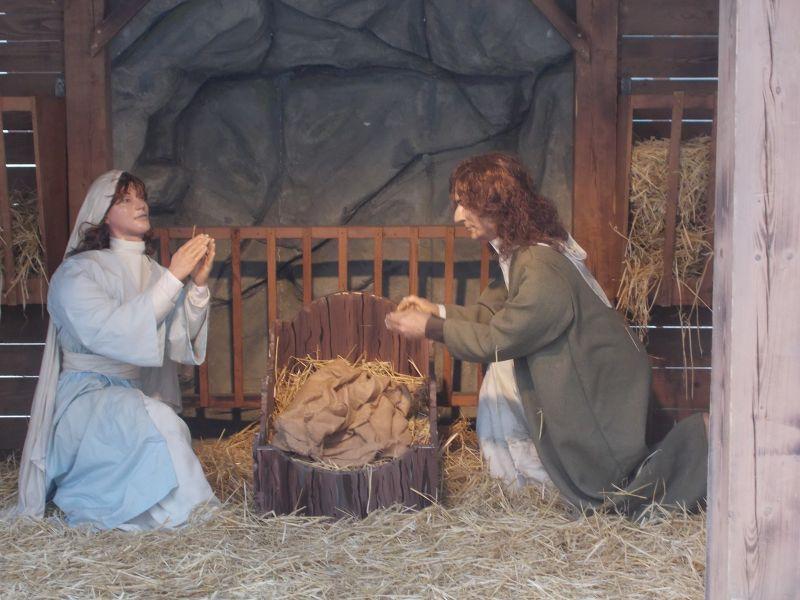 Nativity scene, Place Rossetti. - Nice