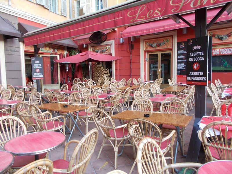 Restaurant, Cours Saleya. - Nice