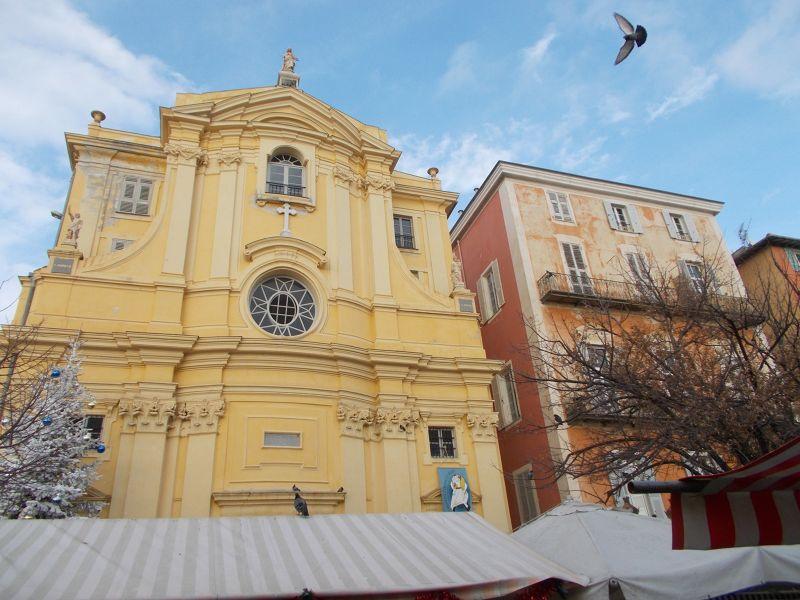 Church, Cours Saleya. - Nice