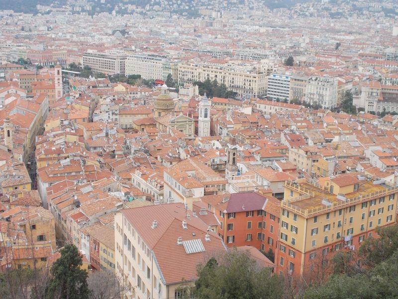 Views over Nice. - Nice
