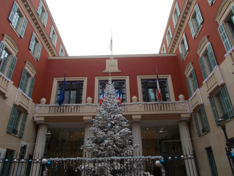 The Hotel de Ville. - Nice