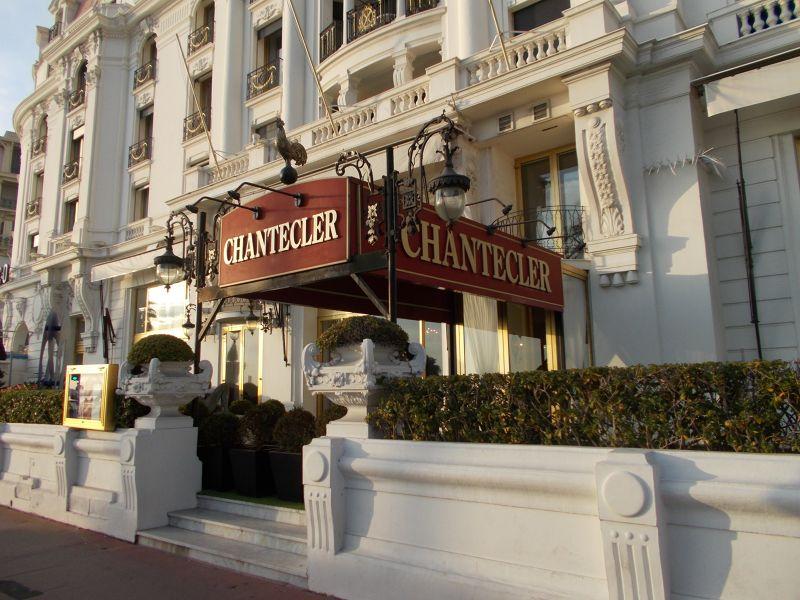 Restaurant at Hotel Negresco. - Nice