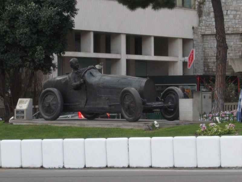Grand Prix Statue - Monaco
