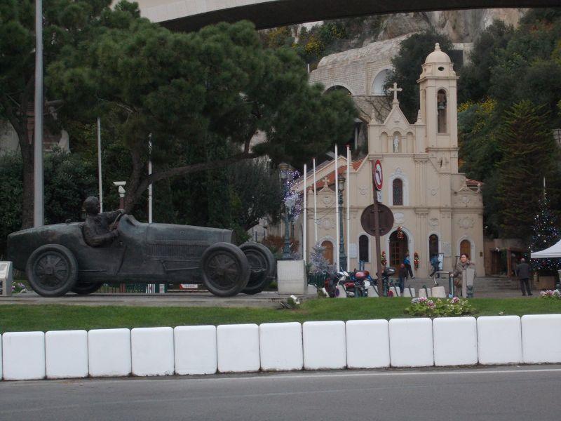 Grand Prix Statue. - Monaco