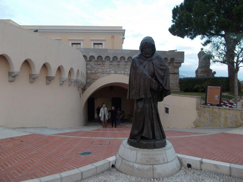 Statue Of Francesco Grimaldi