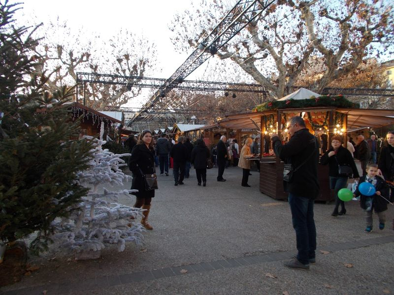 Christmas Market. - Cannes
