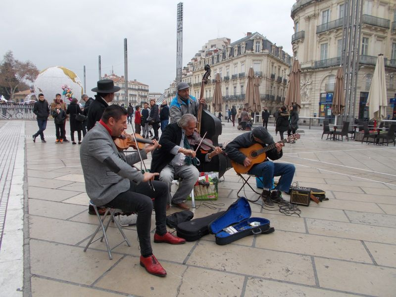 Buskers. - Montpellier