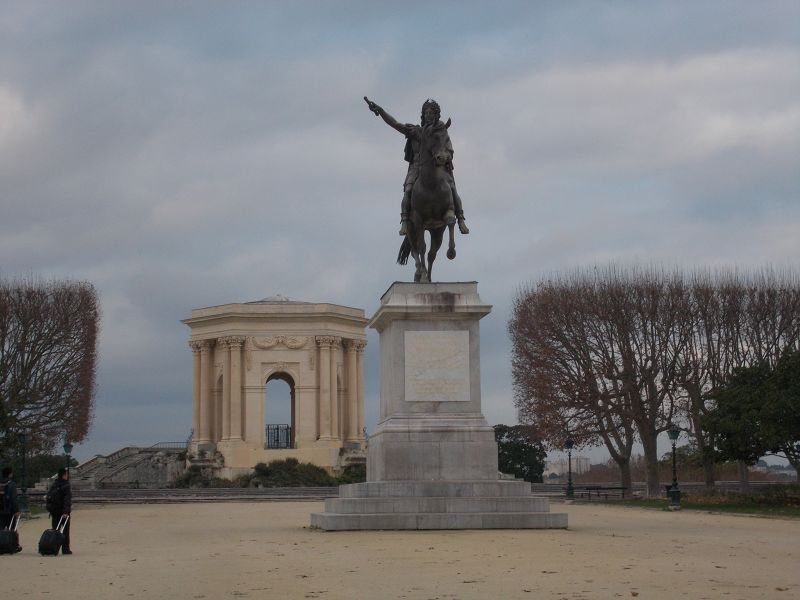 The Promenade du Peyrou. - Montpellier