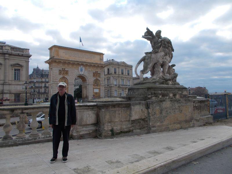 The Porte de Peyrou. - Montpellier