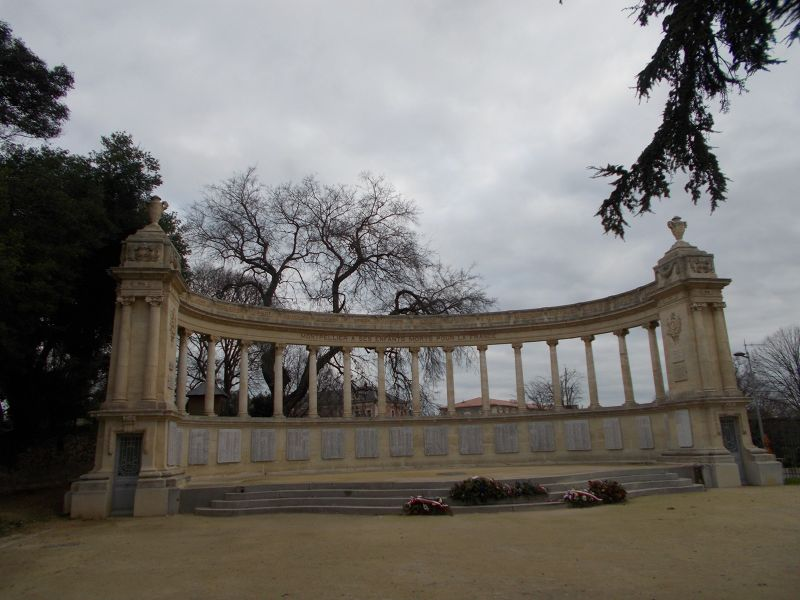 The Jardin Du Champs Du Mars.