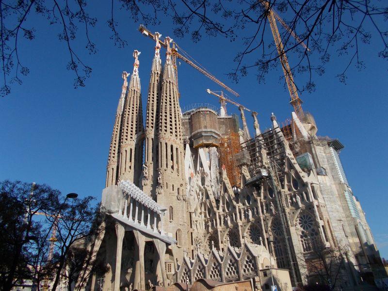 La Sagrada Familia. - Barcelona