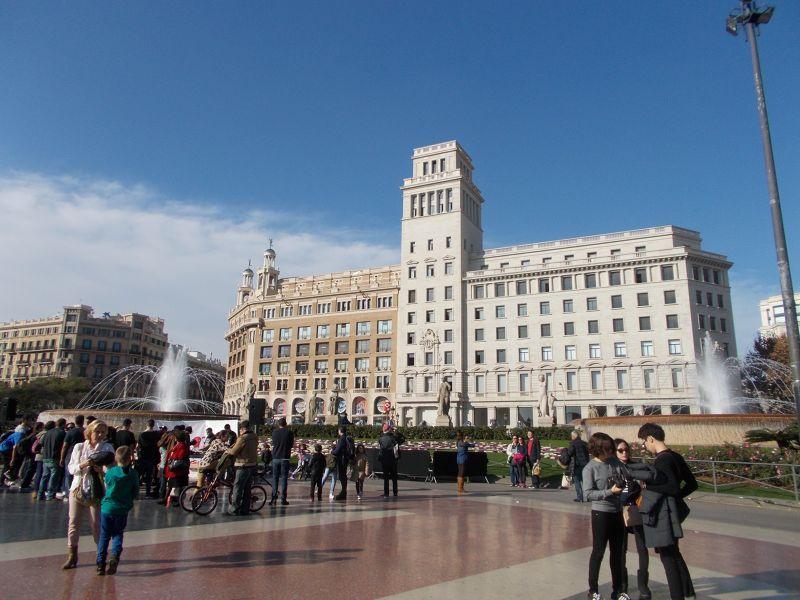 Catalunya Square. - Barcelona