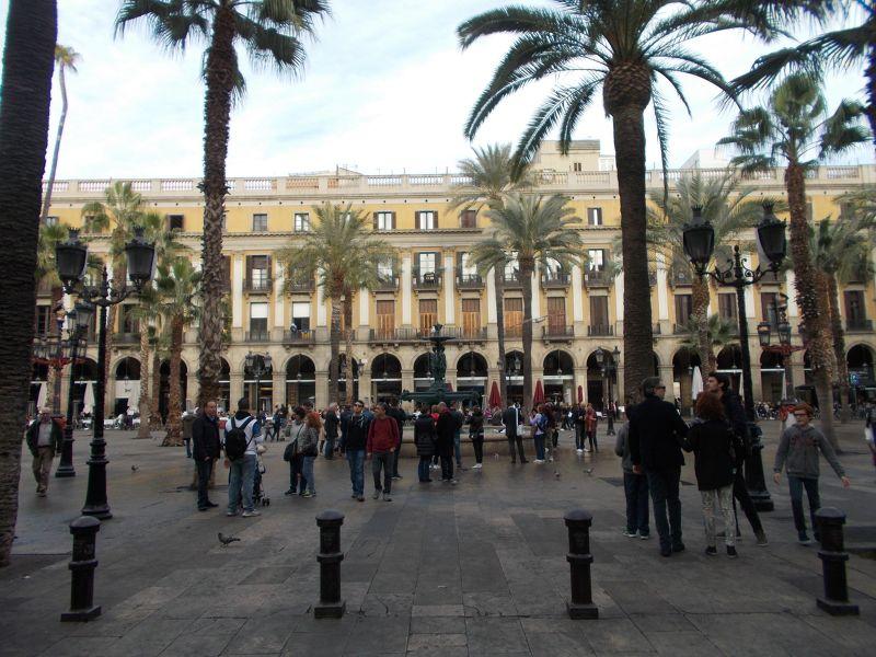 Placa Reial. - Barcelona