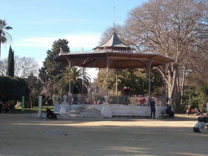 Ciutadella Park.