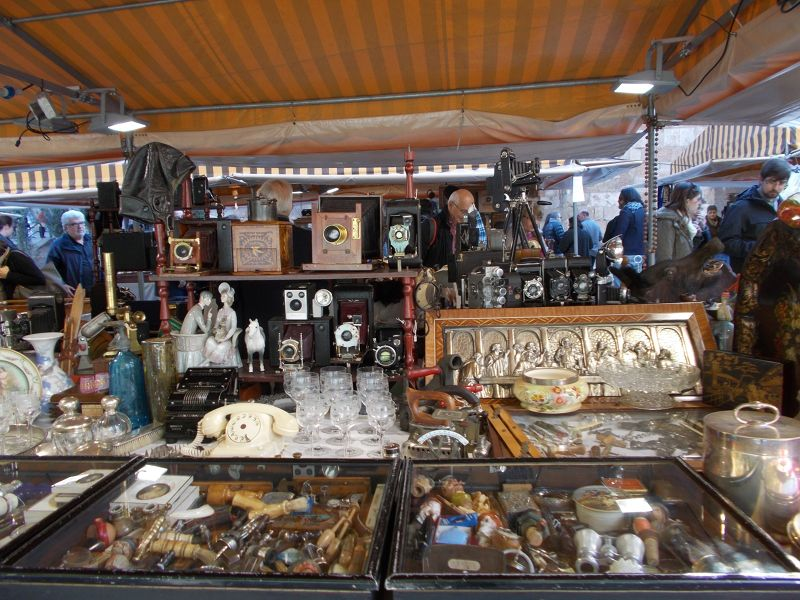 Flea Market. - Barcelona