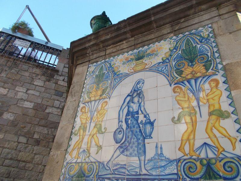 Fountain. - Barcelona