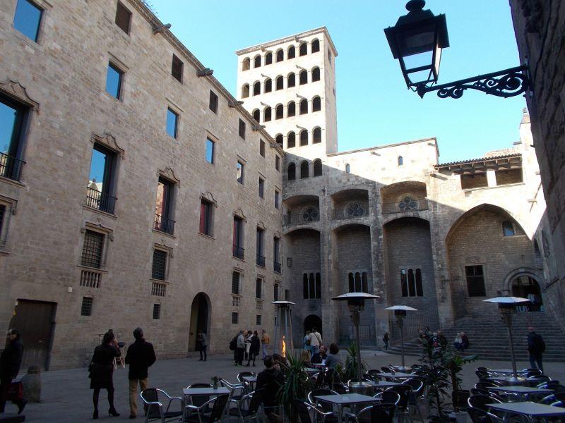 Plaça del Rei - Barcelona