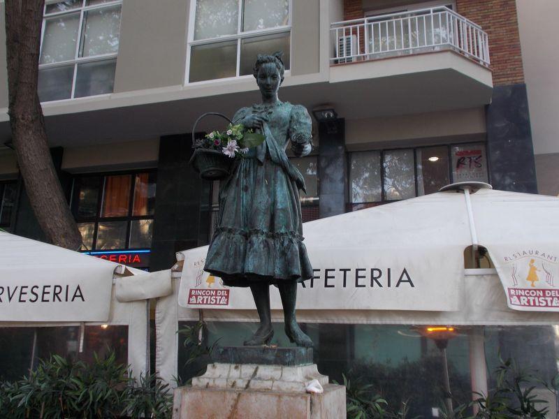 La Violetera. - Barcelona