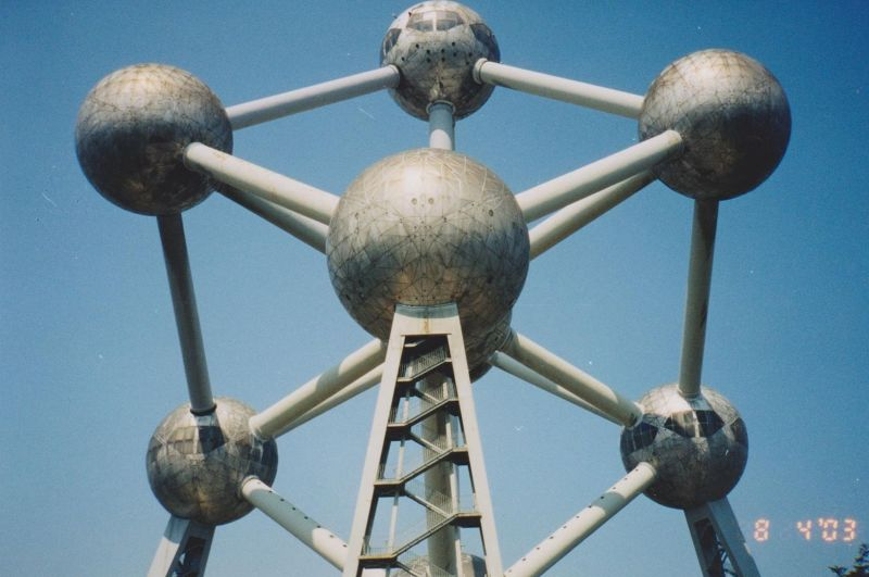 Belgian icons - the atomium
