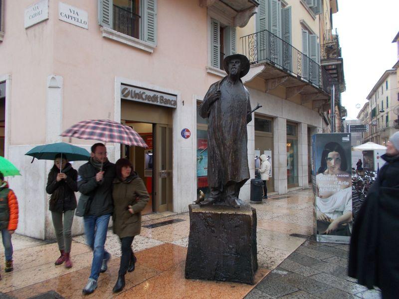 The Italian poet Berto Barbarani (1872-1945) - Verona