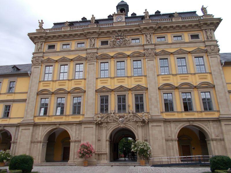 Juliusspital entrance - Würzburg