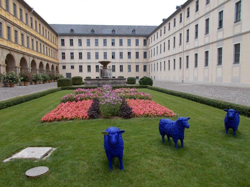 Juliusspital courtyard - Würzburg