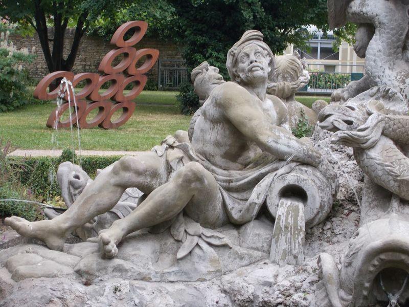 Juliusspital fountain - Würzburg