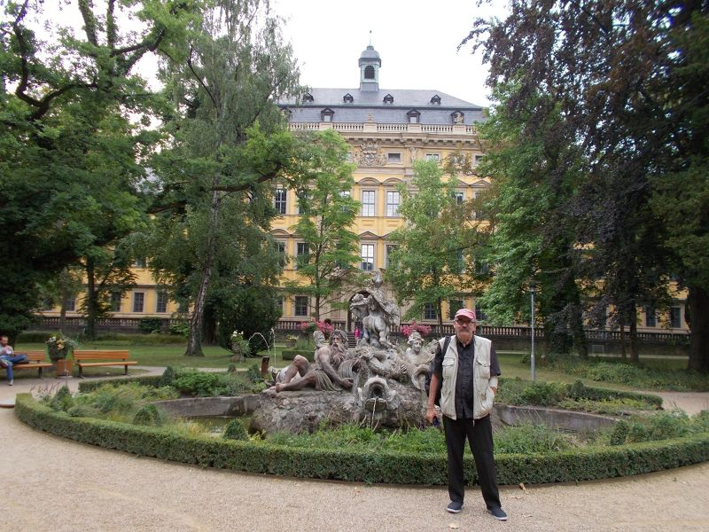 Peter at the Juliusspital. - Würzburg