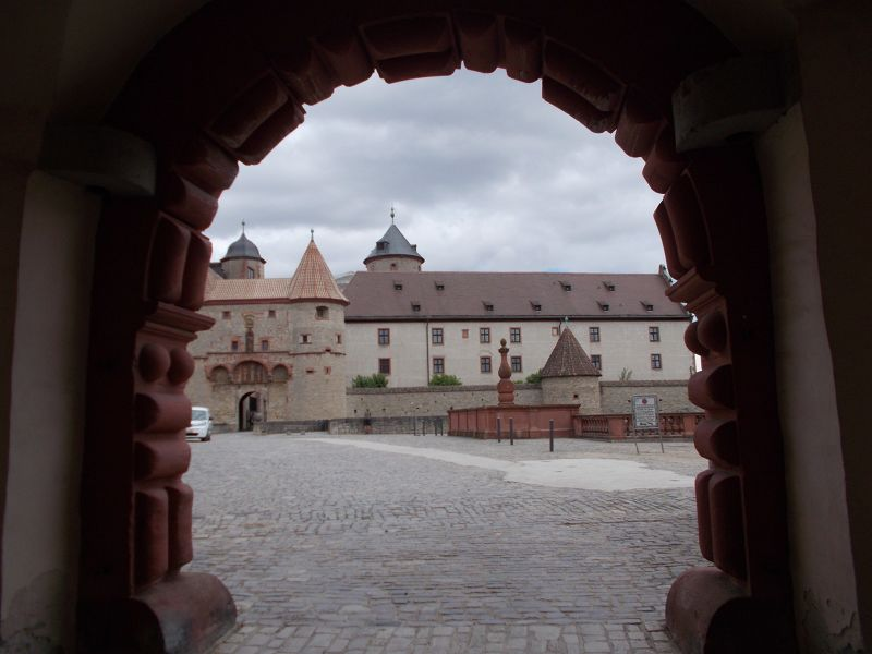 The fortress. - Würzburg