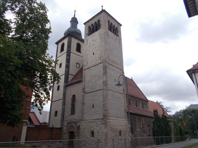 Reglerkirche in Erfurt. - Erfurt