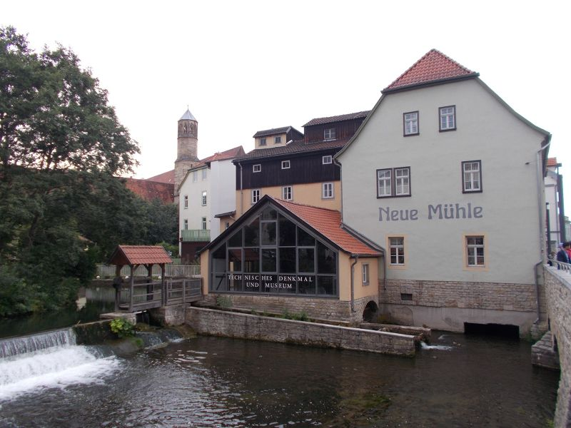 The new mill museum. - Erfurt
