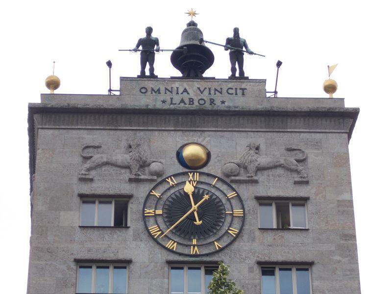 The Kroch-hochhaus - Leipzig